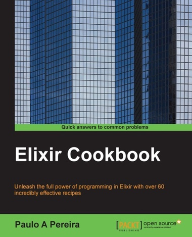 Elixir Cookbook cover