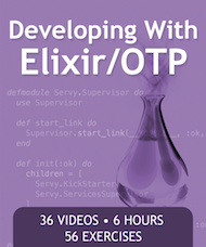 Pragmatic Studio's Elixir/OTP Course
